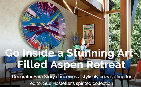 Sue Hostetler Aspen home